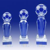 Crystal Trophy Soccer TH084 (Size: Small)